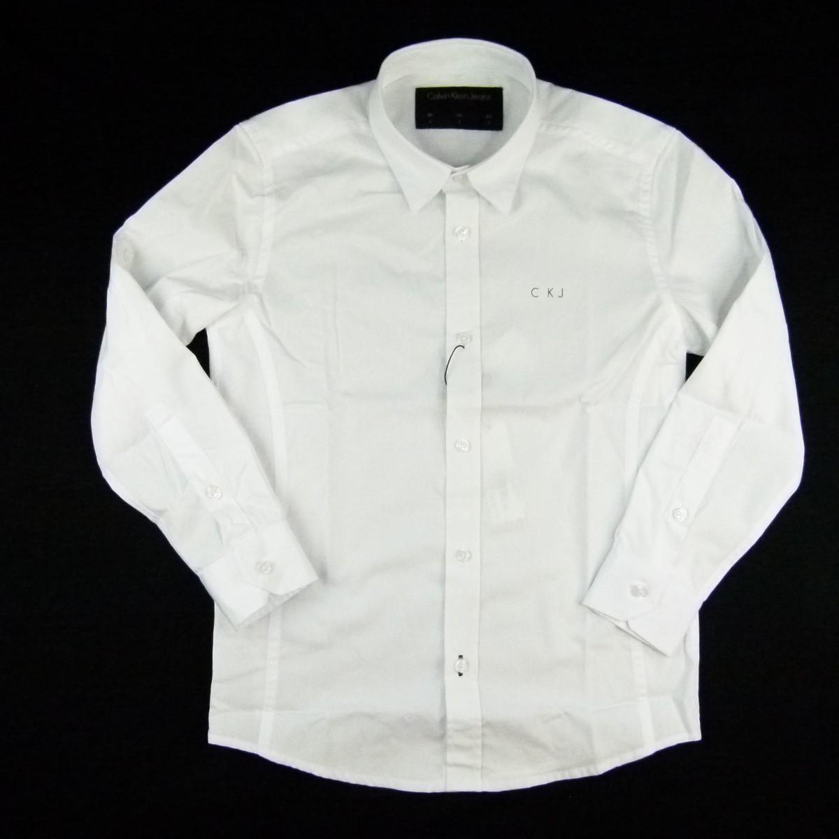 Camisa Manga Longa Calvin Klein - 032272 / 032274 Branco
