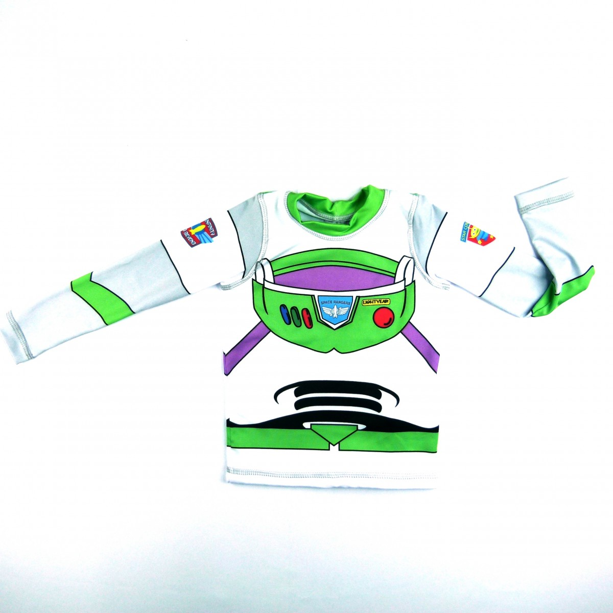 Camiseta Acqua Buzz Manga Longa 50 Fpu Uv. line - 034983 Branco