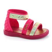 Sandália Infantil Barbie Pink 21230 VERMELHO / ROSA / DOURAD