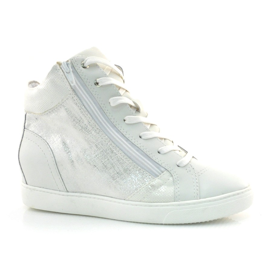 Sneaker Feminino Bottero Preto Ou Branco Branco