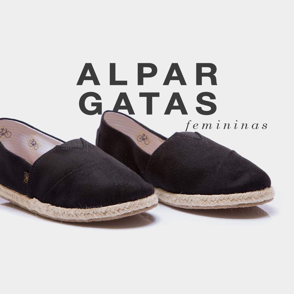 Banner shoes feminino alpargata
