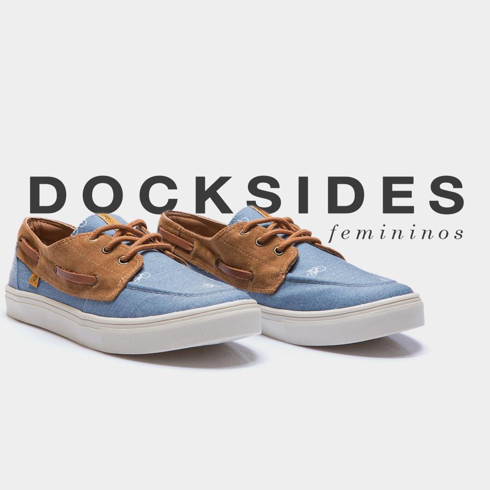 Banner shoes feminino dockside
