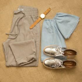 Imagem - Blusa Ombro | Jeans - 2.1094
