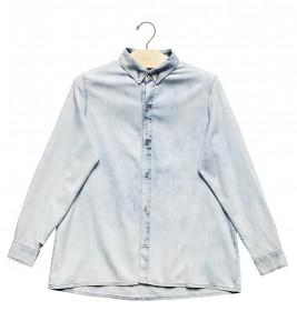 Imagem - Camisa Jeans Aragäna Feminina Destroyed - 2.1017