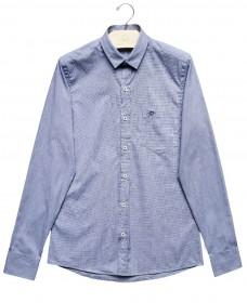 Imagem - Camisa Slim Listras | Azul Claro/Branco - 2.960