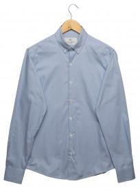 Imagem - Camisa Maquinetada Azul Claro - 2.441