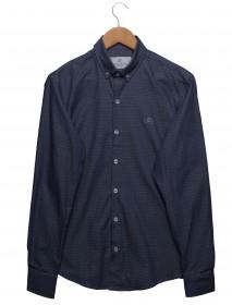 Imagem - Camisa Maquinetada Azul Escuro - 2.440
