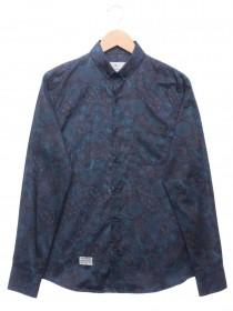 Imagem - Camisa Masculina Full Print Azul - 2.439