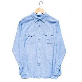 Imagem - Camisa Masculina Linho  Azul - 2.772