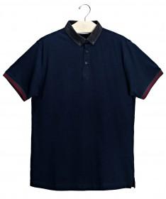 Imagem - Camisa Polo | Marinho/Chumbo - 2.979