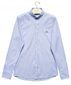 Imagem - Camisa Slim Azul Claro - 2.957