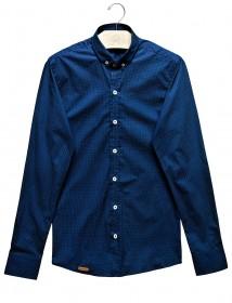 Imagem - Camisa Slim Azul Marinho - 2.958