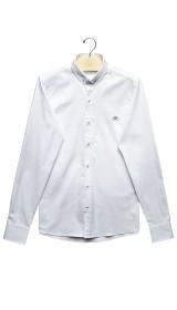 Imagem - Camisa Slim Branca - 2.962