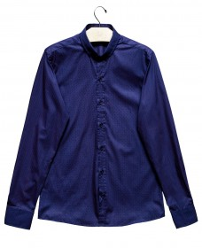 Imagem - Camisa Slim Aragäna Masculina | Roxo/Rosa - 2.964