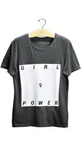 Imagem - Camiseta Aragäna Feminina Girl Power   Cinza - 2.1240