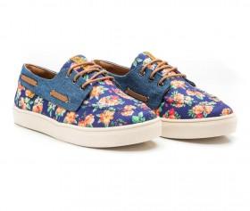 Imagem - Dockside Floral | Azul/Jeans - 2.911