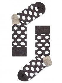 Imagem - Meia Happy Socks Dot | Marrom - 2.751
