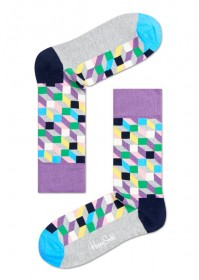Imagem - Meia Happy Socks Formas | Colorida - 2.669