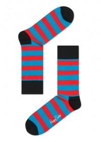 Imagem - Meia Happy Socks Listrada | Vermelha/Azul  - 2.659