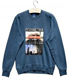 Imagem - Moletom Festival Tour | Azul  - 1.1163