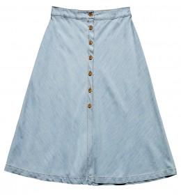 Imagem - Saia Midi Jeans - 2.1015