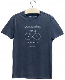 Imagem - T-shirt Combustível | Azul Stone - 2.1205