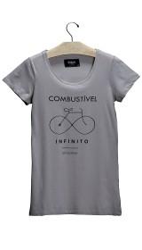 Imagem - Camiseta Aragäna Feminina Combustível Areia  - 2.589