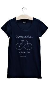 Imagem - T-shirt Feminina Combustível Marinho - 2.710