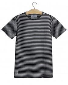 Imagem - T-shirt Listrada Preto e Branco - 2.886
