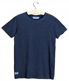 Imagem - T-shirt London Listrado | Azul/Branco - 2.1078