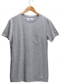 Imagem - Camiseta Aragäna Masculina Bolso Cinza - 2.474
