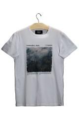 Imagem - T-shirt Masculina Dolomites Italy Branca - 2.711