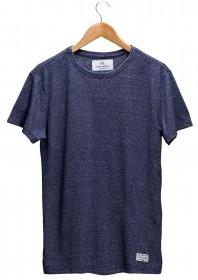 Imagem - T-shirt Masculina Lisa Azul Mineral - 2.445