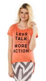 Imagem - T-shirt Mullet Coral Less Talk - 1.589