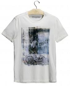 Imagem - T-shirt Muro & Bike | Cru - 2.1204