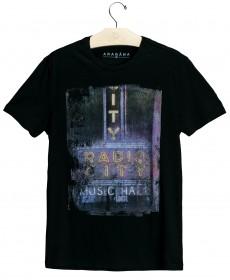 Imagem - Camiseta Aragäna Masculina Radio City | Preta - 2.1194