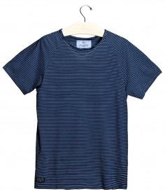 Imagem - Camiseta Aragäna Masculina Raglan Listrada | Marinho/Branco - 2.1080