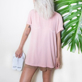 Imagem - T-shirt Sereias se divertem | Rosa Nude - 2.1219