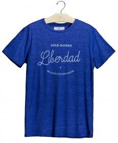 Imagem - T-shirt Solo Quiero Liberdad | Azul - 2.1011