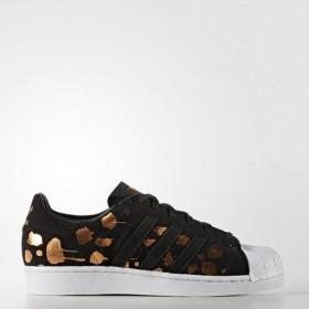Imagem - Tênis Adidas Superstar | Preto/Dourado - 2.1095