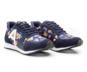 Imagem - Tênis Jogging Floral/Marinho - 2.919