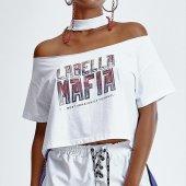 Imagem - Blusa Labellamafia Cropped