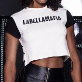 Imagem - Blusa Labellamafia Cropped Rive Gauche