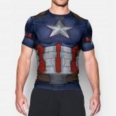 Imagem - Camiseta Under Armour Capitão América Compressão