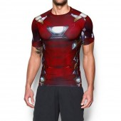 Imagem - Camiseta Under Armour Iron Man Compressão