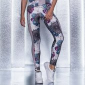 Imagem - Legging Labellamafia Neutral Flowers Mentawaii Bali