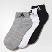 Imagem - Meia Adidas Ankle Mid Cushion 3PPK