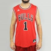 Imagem - Regata Adidas NBA Chicago Bulls Rose