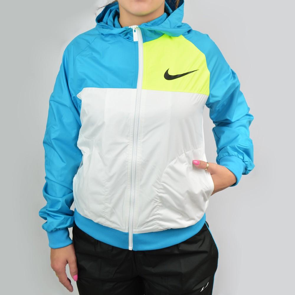 abrigo nike azul