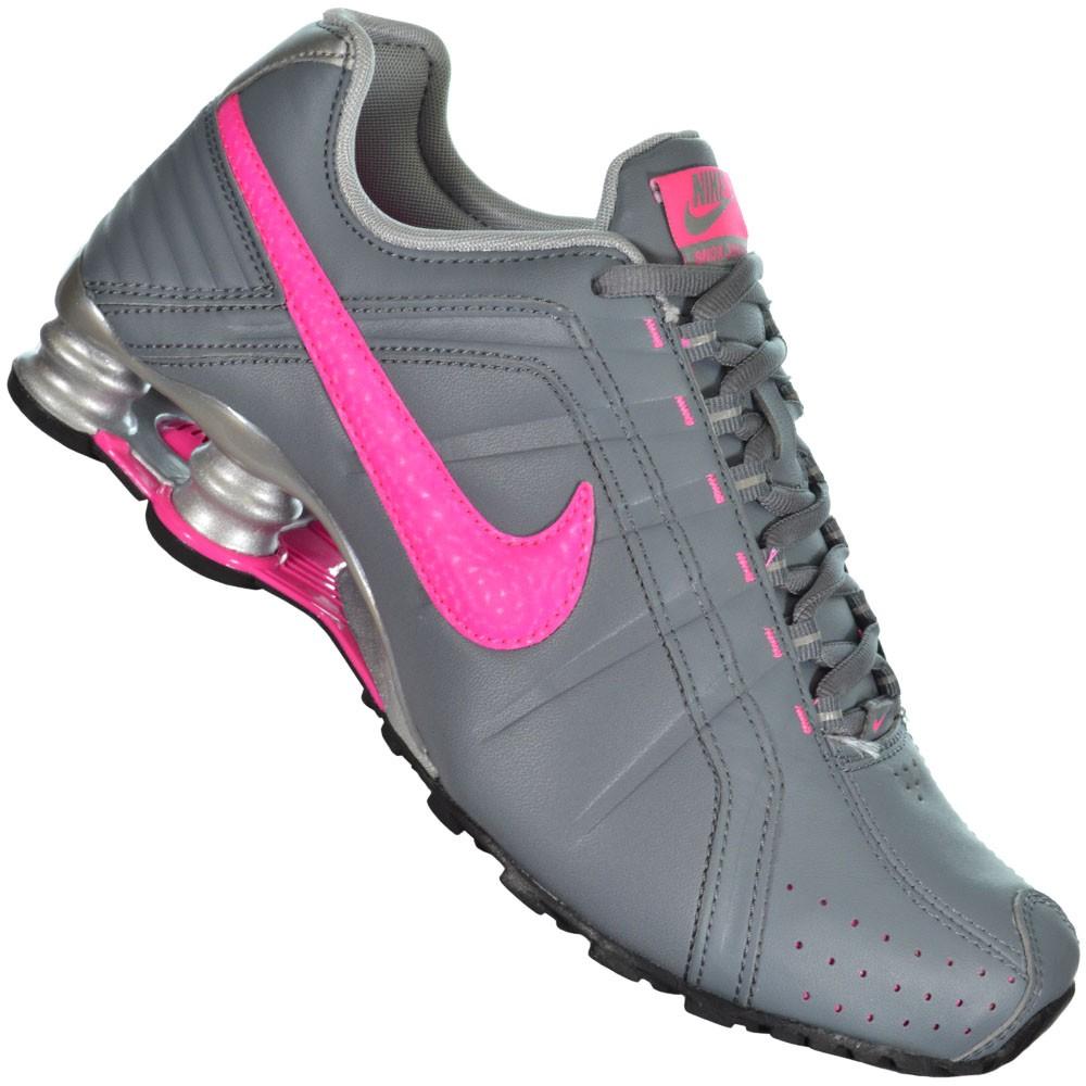 nike shox feminino rosa